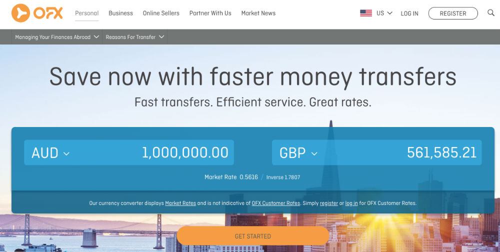 OFX Money Transfer Review: Low Costs, 24/7 Customer Services